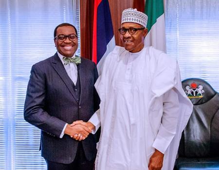 Adesina meets Buhari, says AfDB invests $4.5b in Nigeria