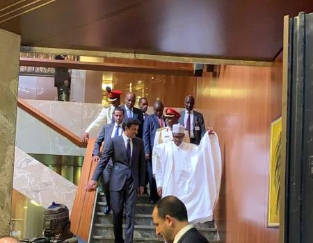 Buhari hosts Emir of Qatar, urges him to invest in Nigeria