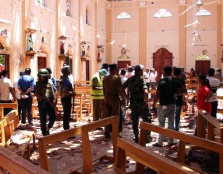 Eight bomb blasts hit Sri Lanka churches, hotels, leave 140 dead, 560 injured
